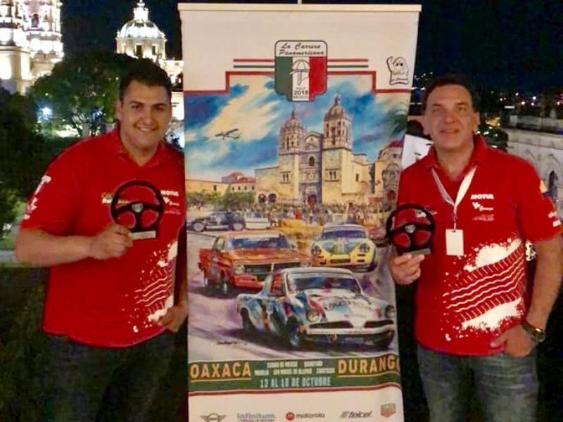 Carrera Panamericana 2018: Julián Jaramillo tuvo una exitosa participación