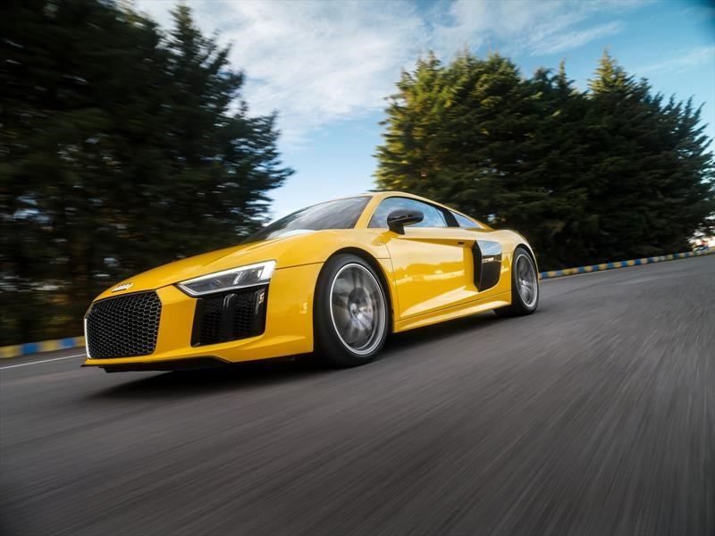 Audi R8 V10 Plus 2017, a prueba