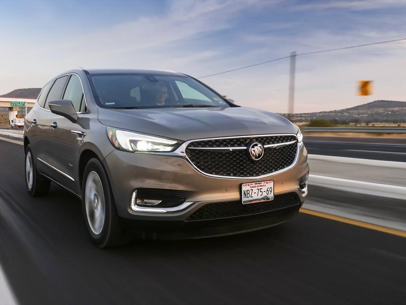 Buick Enclave 2018 a prueba