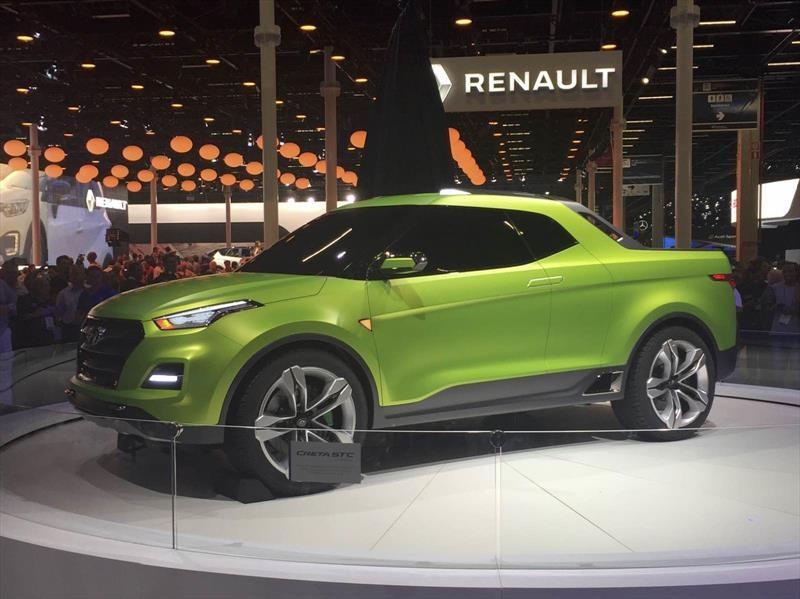 Hyundai presenta una pickup basada en la Creta