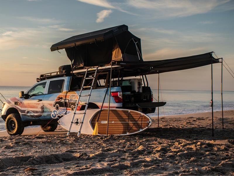 Nissan Titan Surfcamp es tu casa de playa sobre ruedas