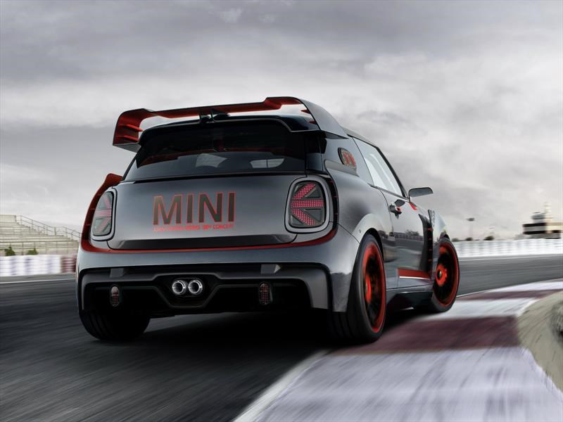 MINI John Cooper Works GP Concept, un auténtico auto de carreras