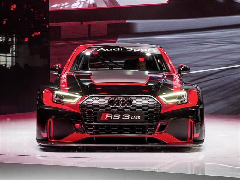 Salon De Paris 2016 Audi Rs3 Lms Un Auto De Carreras Accesible