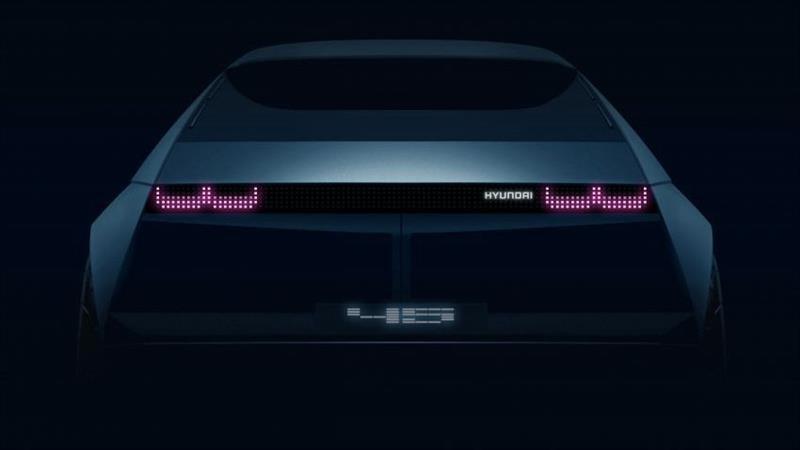 Hyundai 45 Concept, inspirado en el Pony
