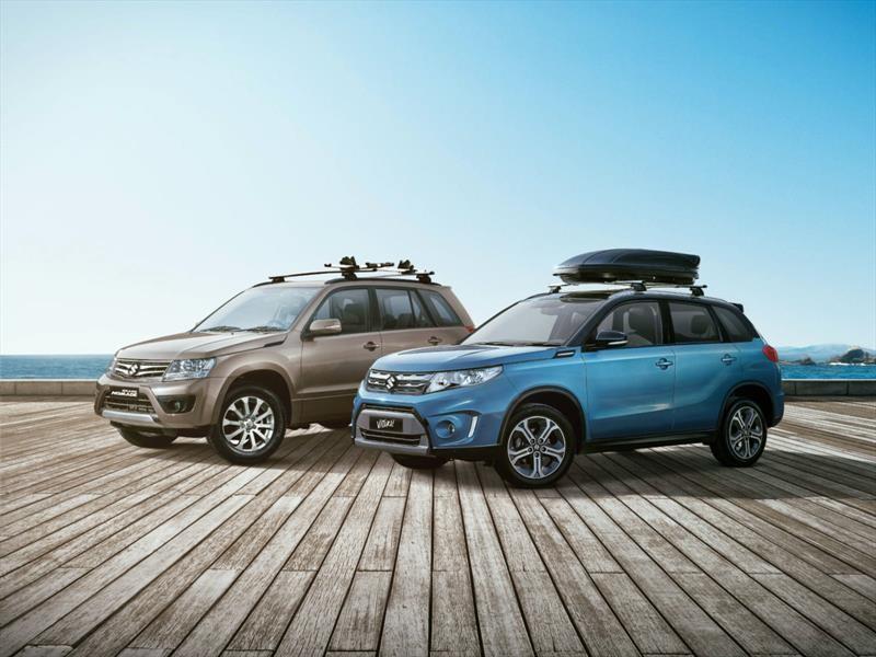 SUVs de Suzuki reciben Kit de verano