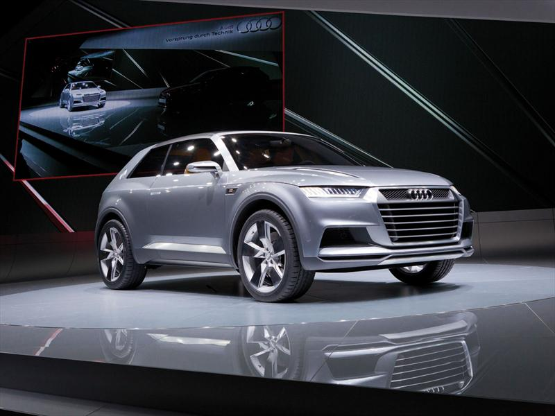 Saln De Pars 2012 Audi Crosslane Coup Concept En Pars 2012