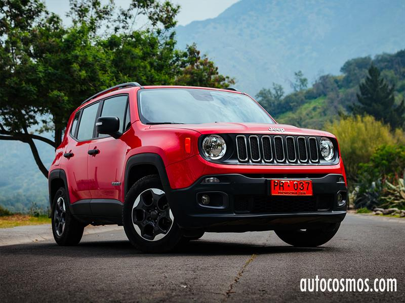 Test Drive Jeep Renegade 2017 Autocosmos Com