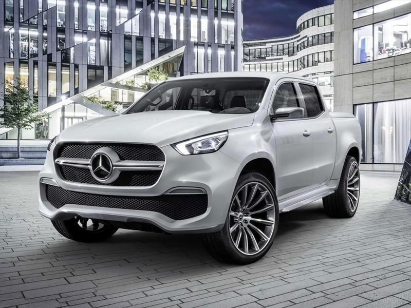 Mercedes-Benz Clase X concept, la pick-up con estrella ...