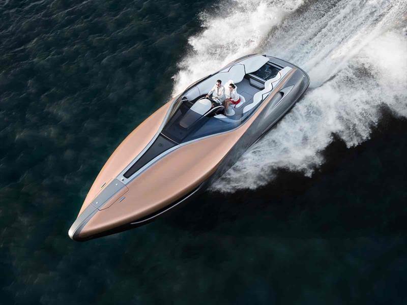 Lexus Sports Yacht Concept, el yate de lujo de Toyota