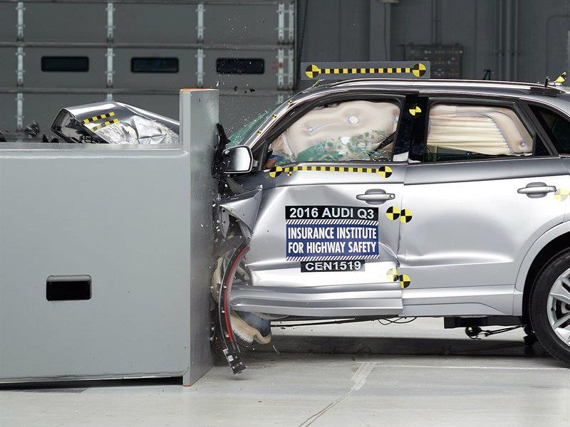 Audi Q3 2016 es nombrado Top Safety Pick por IIHS