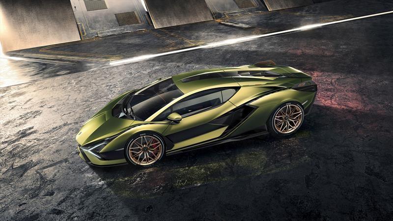 Sián es el súper auto más potente de Lamborghini gracias a un sistema híbrido