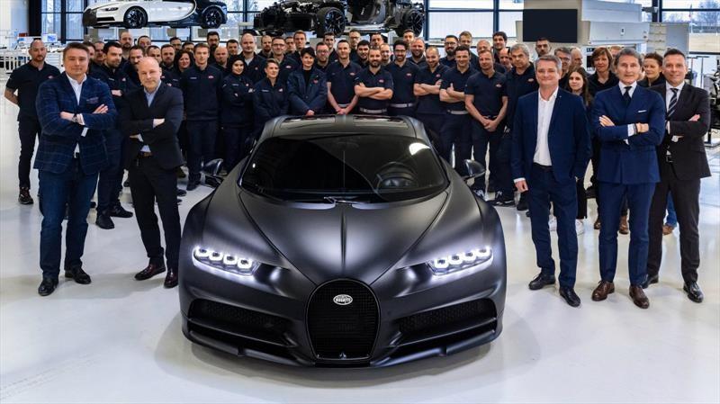 Bugatti llega a la mitad de unidades que producirá del Chiron
