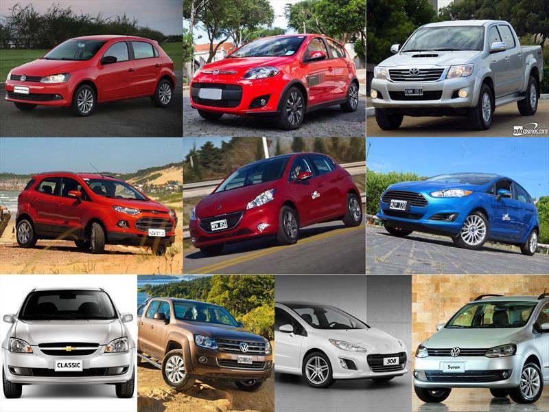Top 10 los autos más vendidos en Argentina en enero de 2015