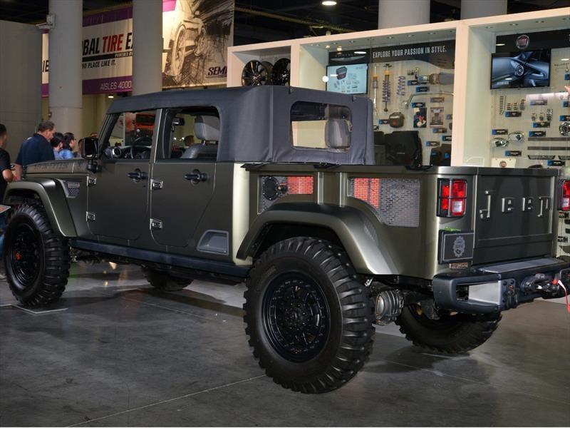 Jeep Wrangler es el Hottest 4x4 SUV del SEMA Show 2016 - Autocosmos.com
