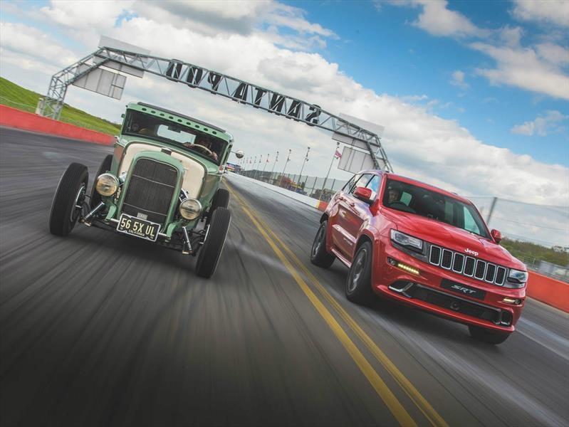 Frente a frente, Jeep Grand Cherokee SRT vs Hot rod