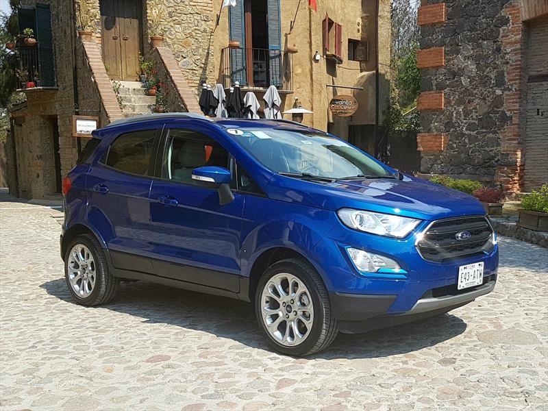Ford Ecosport 2018, primer contacto en México