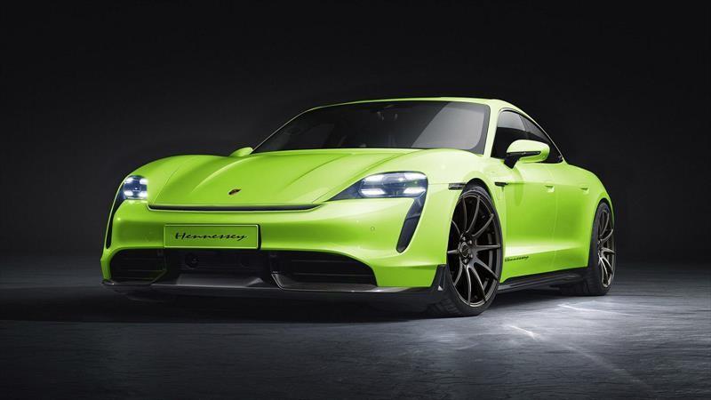 Hennessey ha decidido perfeccionar el poder y la imagen del Porsche Taycan