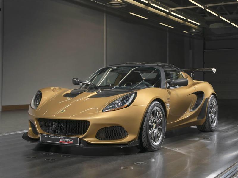 Lotus Elise Cup 260 2018 se presenta