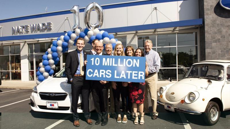 Subaru llega a 10 millones de automóviles vendidos en Estados Unidos
