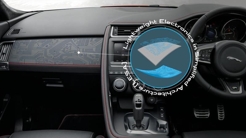 Jaguar Land Rover integrará componentes electrónicos ligeros en sus futuros modelos