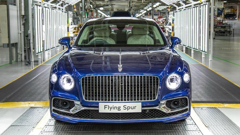 Bentley inicia la producción del Flying Spur 2020