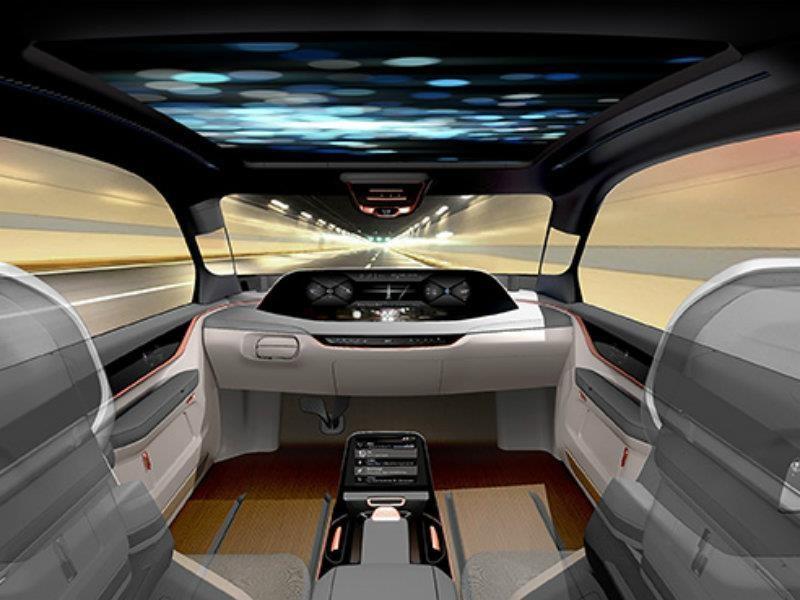 Así serán los interiores de los autos en futuro próximo