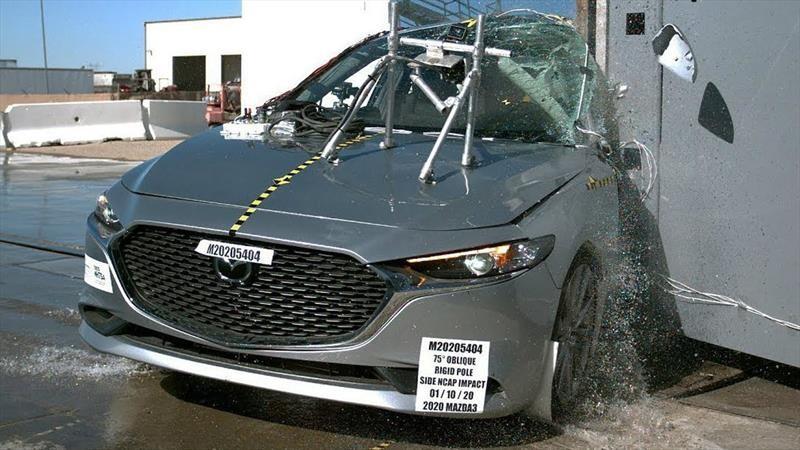 Mazda 3 2020 obtiene 5 estrellas en las pruebas de choque de la NHTSA