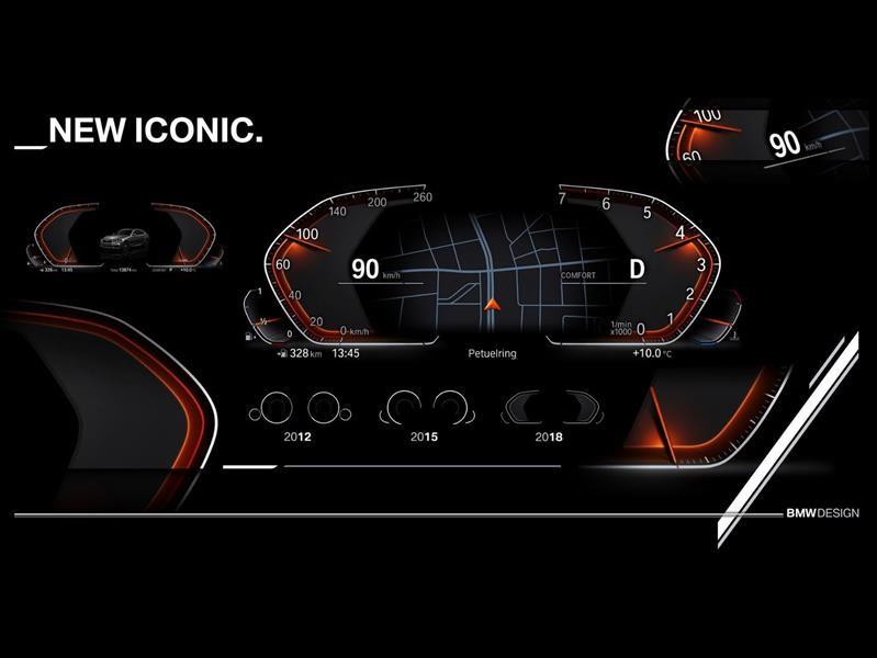 BMW tendrá un nuevo cuadro digital de instrumentos