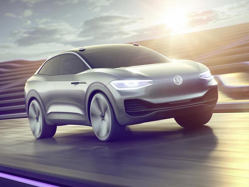 I.D. Crozz Concept es la propuesta eléctrica y autónoma de Volkswagen