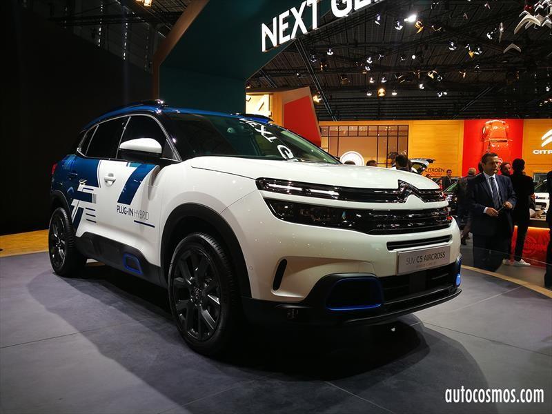 Citroën se lanza a la carrera con su primer modelo híbrido