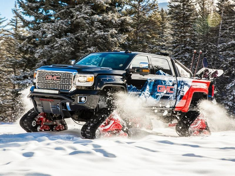 GMC Sierra 2500HD All Mountain Concept, exclusivo para rodar en la nieve