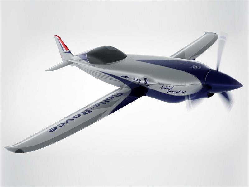 Rolls-Royce prepara un avión eléctrico con ayuda de la Fórmula E
