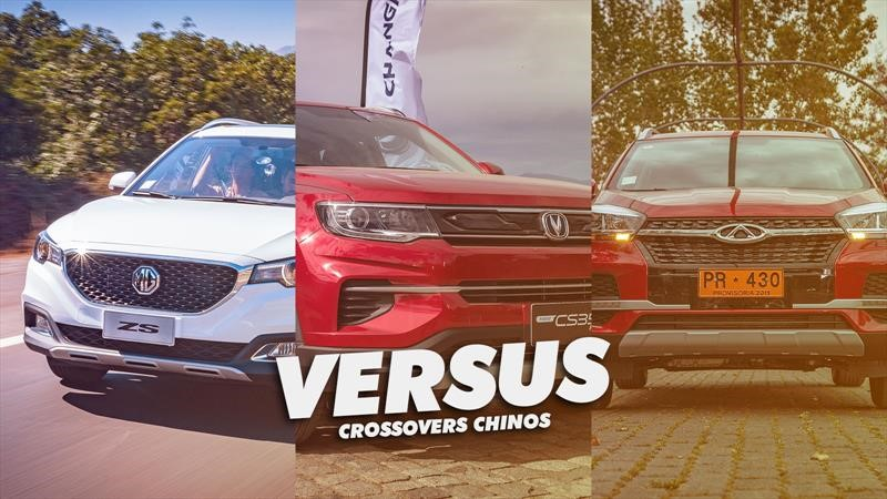 Changan CS35 Plus vs Chery Tiggo 3 vs MG ZS, la batalla de los crossover chinos