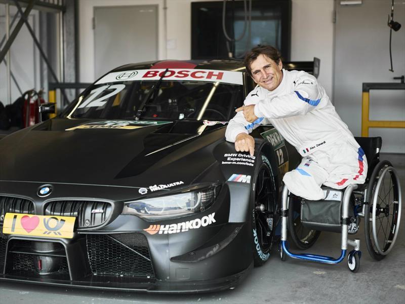 Alex Zanardi conducirá un BMW M4 DTM modificado