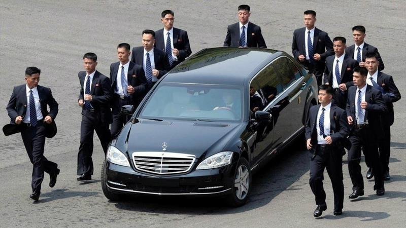 New York Times revela la verdad sobre los Mercedes-Benz blindados del lider Kim Jong-um