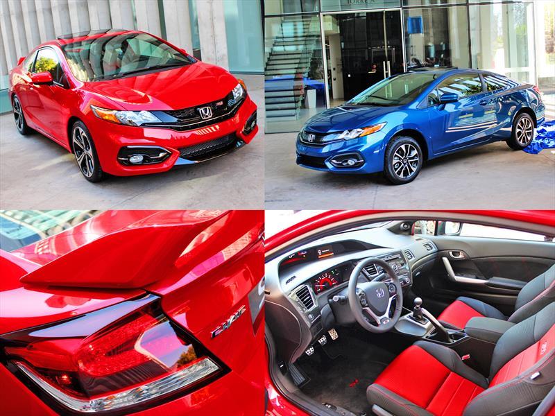 Nuevos Honda Civic Coupé y SI Coupé 2014: Estreno en Chile - Autocosmos.com