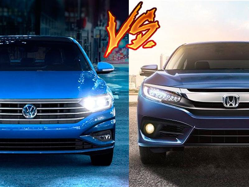 Volkswagen Jetta vs Honda Civic
