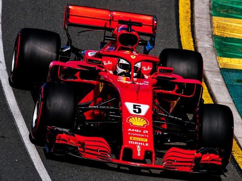 Scudería Ferrari gana el GP de Australia 2018