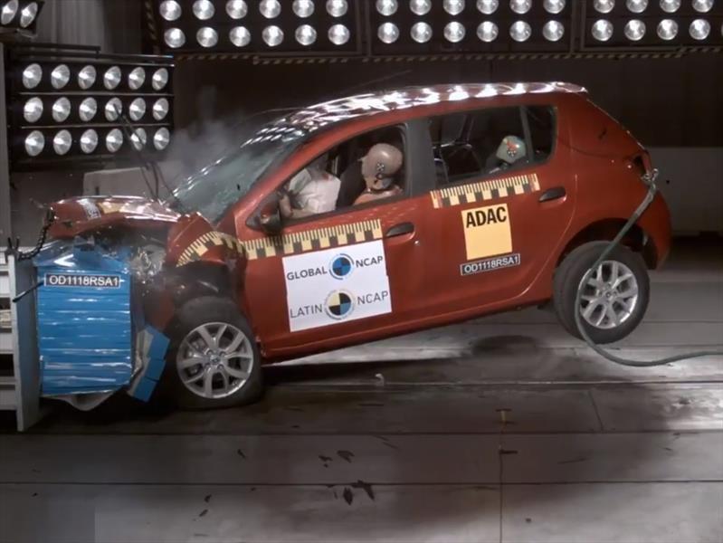Renault Sandero es evaluado por LatinNCAP