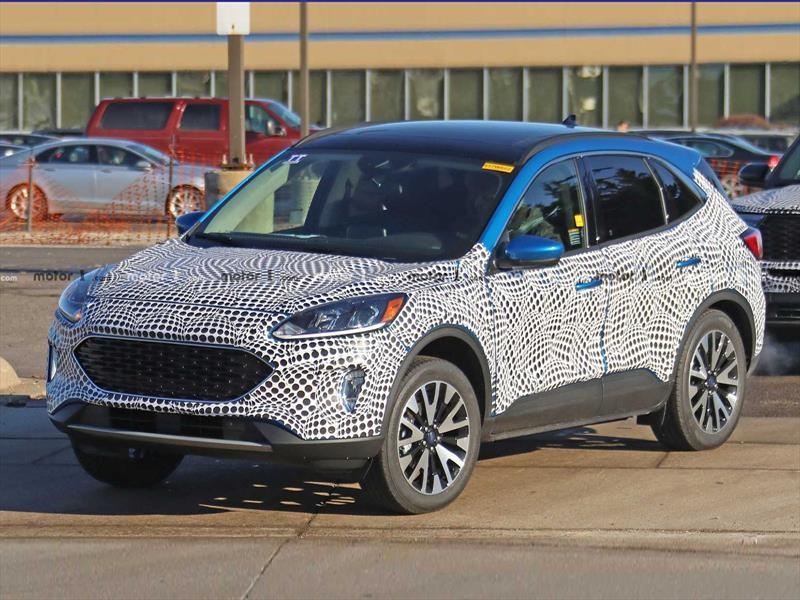 Primeras imágenes de la cuarta generación del Ford Escape