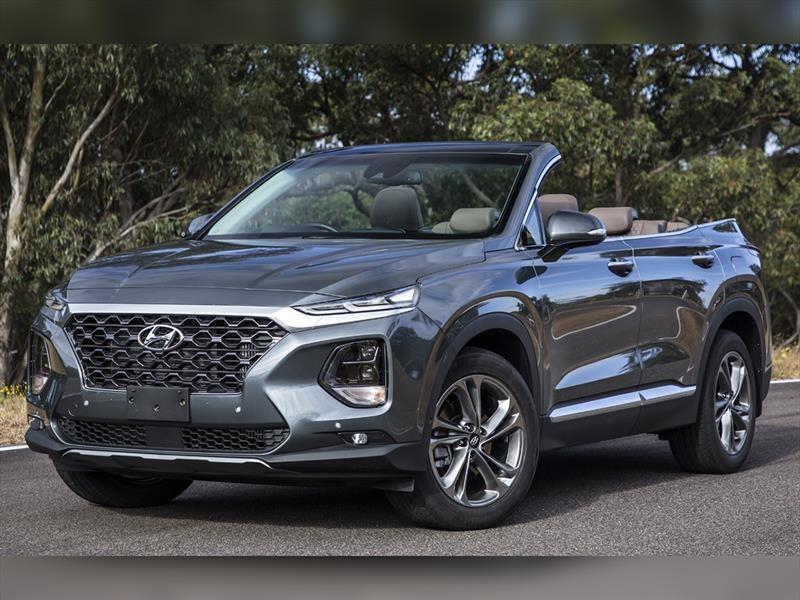 ¿Hyundai Santa Fe convertible?