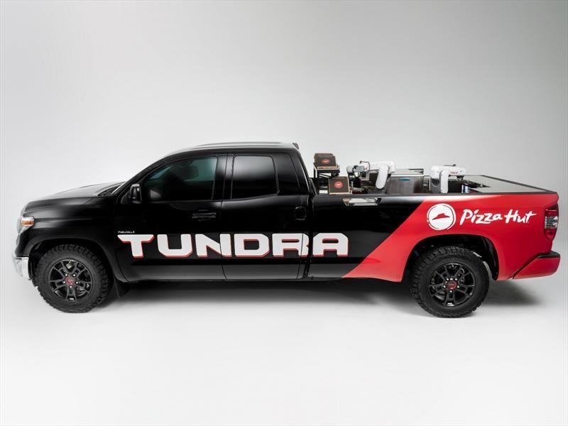 Toyota Tundra Pie Pro, un extraño pickup productor de pizzas