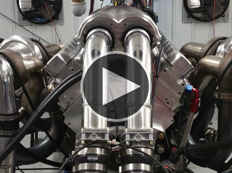 Venta De Carros Usados >> Conoce el V16 de 4,500 hp del Devel Sixteen - Autocosmos.com