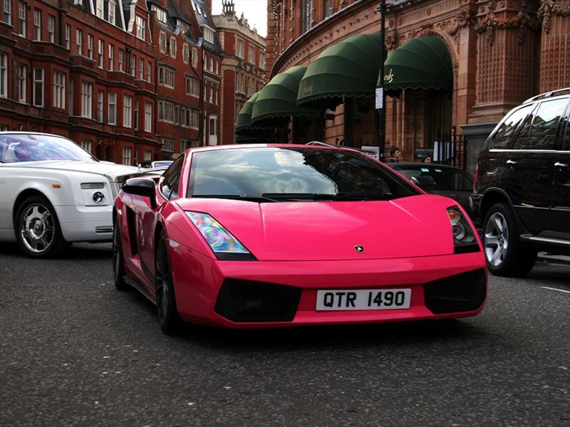 Pink Lamborghini Gallardo Superleggera El Toque Femenino