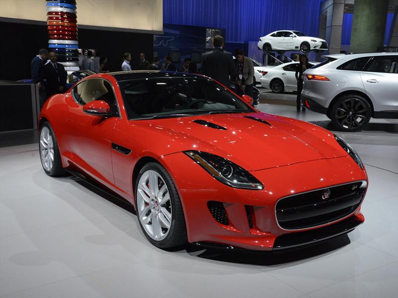 Se presenta el Jaguar F-Type Coupé 2015