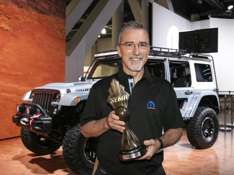 Jeep Wrangler, elegido como el Hottest 4x4 SUV del SEMA Show 2017