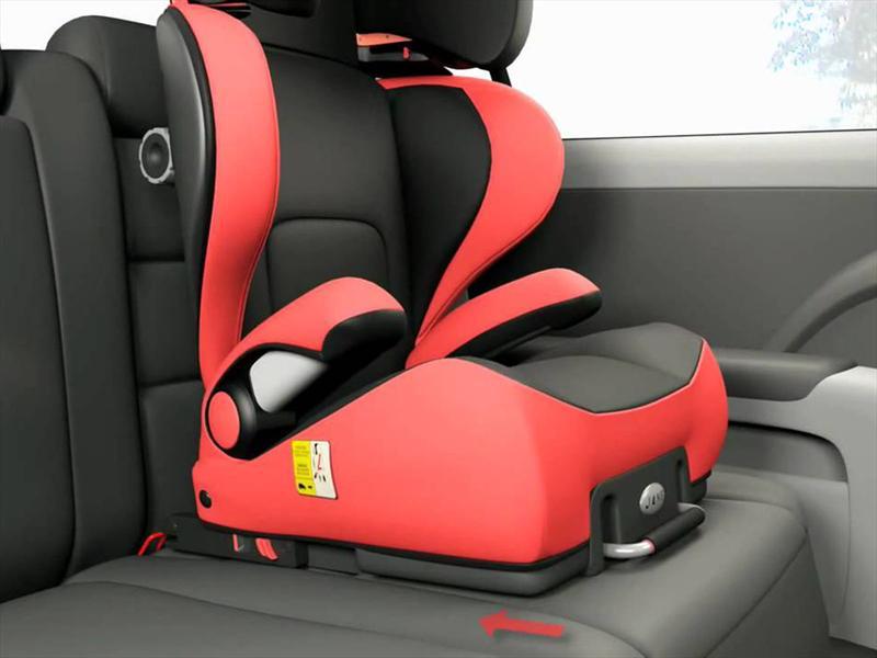 Tecnolog a qu son los anclajes latch e isofix para for Asiento de bebe para auto
