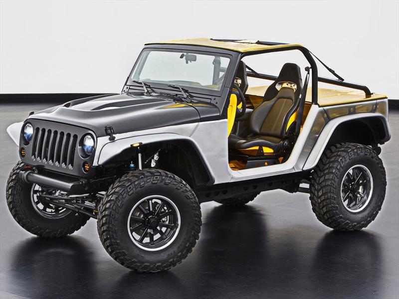 Jeep presenta 6 vehículos modificados en el desierto de Moab ...