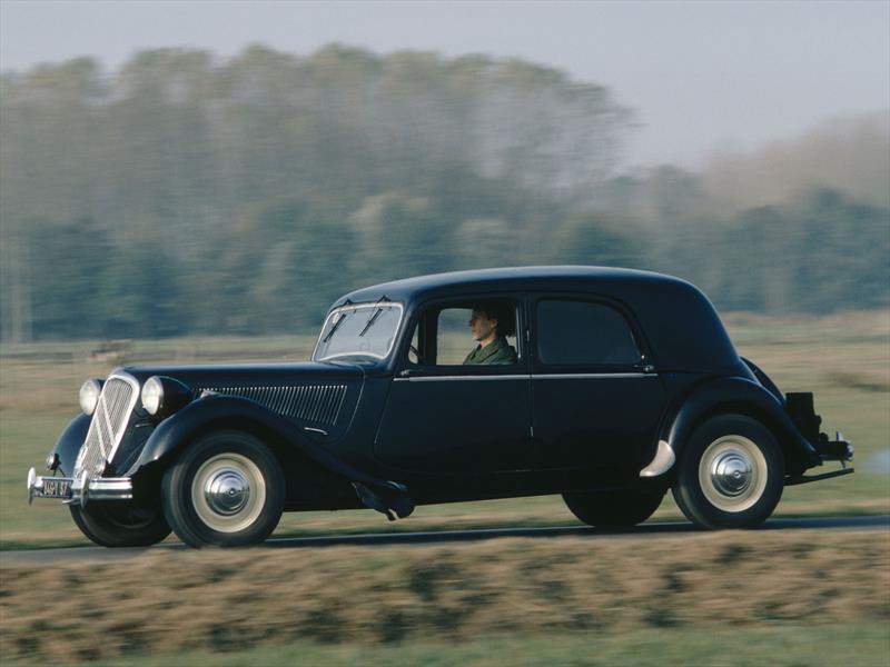 Citroën Traction Avant, el primer auto de tracción