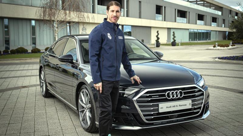 Jugadores del Real Madrid vuelven a estrenar autos y SUVs de Audi